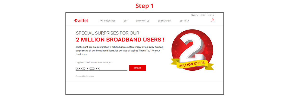 airtel free broadband offers