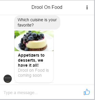 facebook messenger ad preview